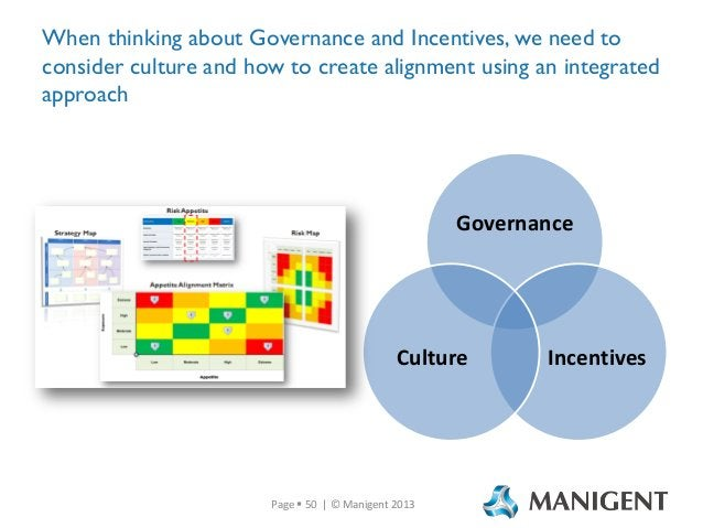 When thinking about Governance and Incentives, we need to consider culture and how to create alignment using an integrated...