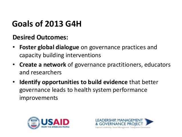Governance Roundtable Brown Bag Presentation Slide 3