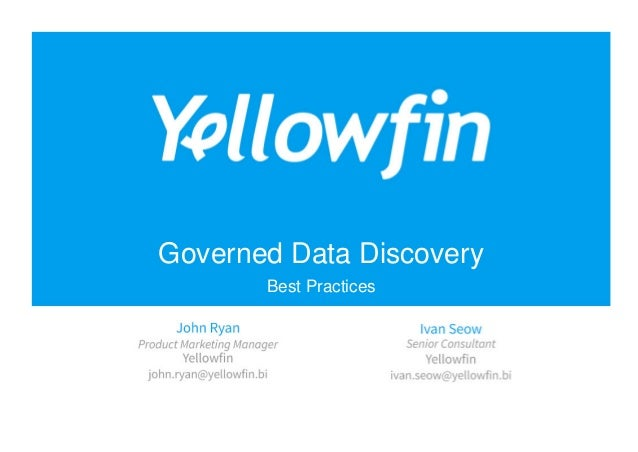 Governed Data Discovery Best Practices