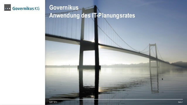 Governikus Anwendung des IT-Planungsrates CeBIT 2015 Seite 1