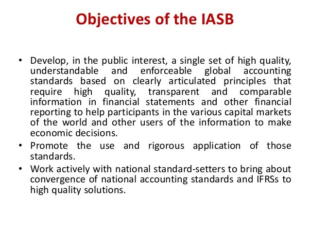 function and roles of iasb Has complete responsibility for all iasc technical matters including the  preparation and issuing of international accounting standards and exposure  drafts, both.