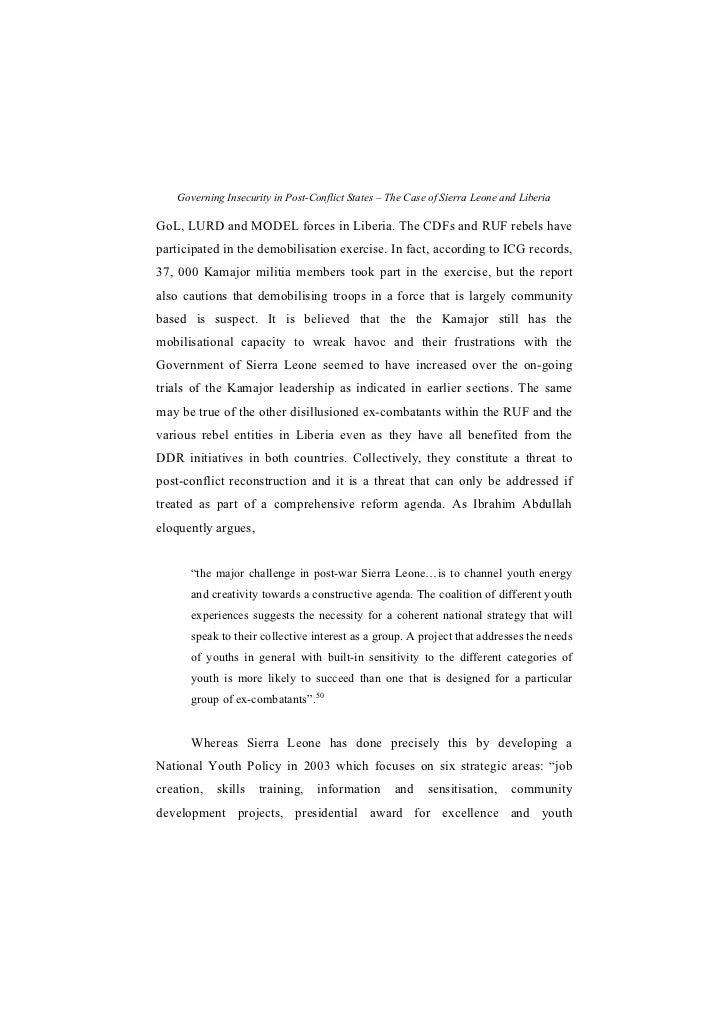Sierra Leone Essay – 513834