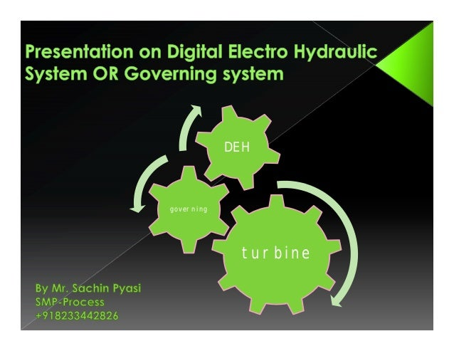 DEH  governing  turbine