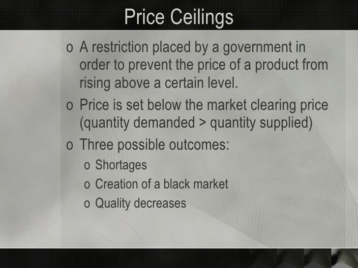 government intervention in pricing Government interventions in the housing market come in many forms  prices  and volume, both fall below their baseline level after the tax credit is removed.