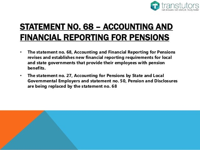 the government accounting standards boards 45 essay Role of the board the role of the financial reporting advisory board, or frab, is to ensure that government financial reporting meets the best possible standards of financial reporting by following generally accepted accounting practice (gaap) as far as possible.