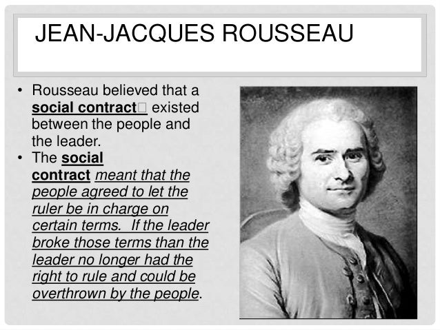 a comparison of adam smith and jean jacques rousseau Which of the following political theorists and philosophers were in favor of capitalism a adam smith b karl marx c jean-jacques rousseau d john locke.