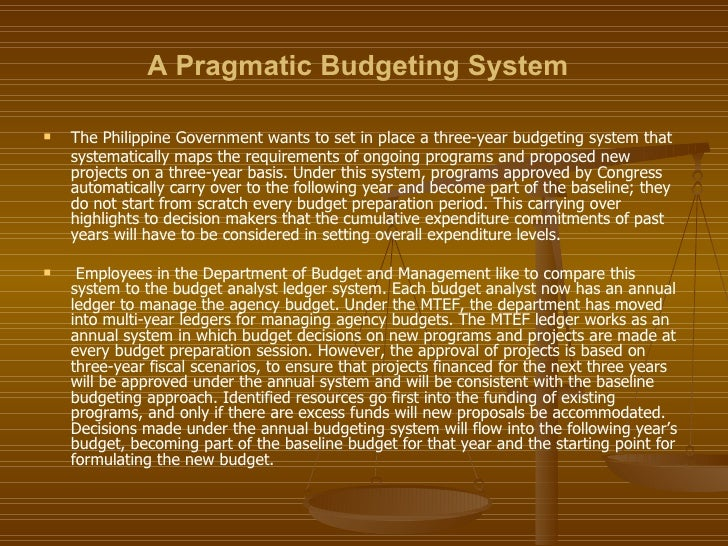 challenges encountered in budget preparation