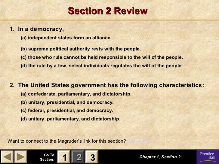 government chapter 1 powerpoint con t rh slideshare net american government chapter 3 section 2 guided reading and review american government chapter 6 section 3 guided reading and review