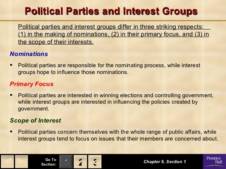 Government chapter 9 notes 1