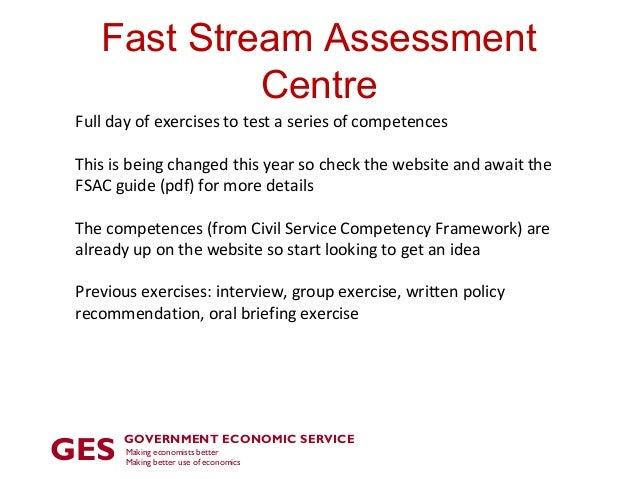Civil service essay fast stream assessment centre