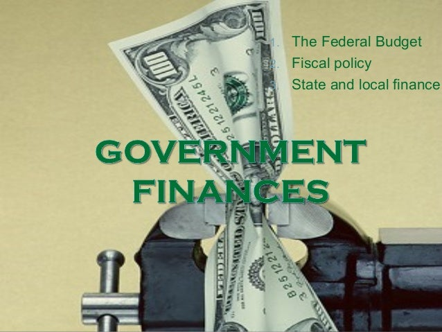 Finances and government
