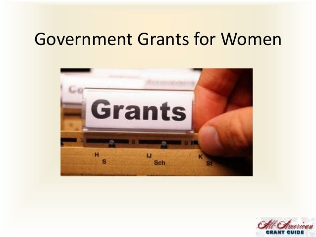 Government Grants for Women