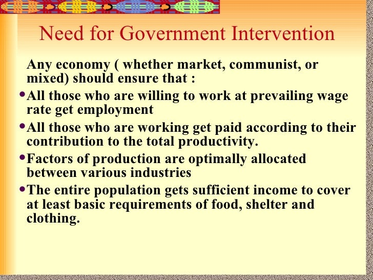 government intervention in market Government intervention news find breaking news, commentary, and archival information about government intervention from the tribunedigital-baltimoresun.