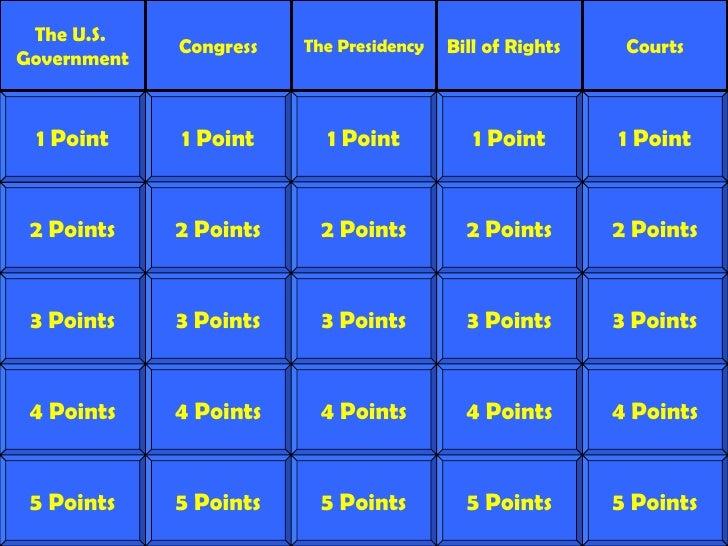 2 Points 3 Points 4 Points 5 Points 1 Point 2 Points 3 Points 4 Points 5 Points 1 Point 2 Points 3 Points 4 Points 5 Point...