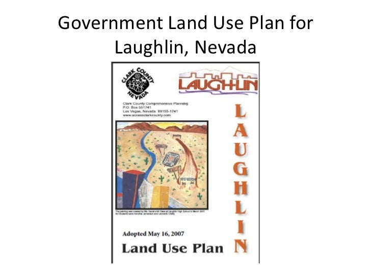 Government Land Use Plan for Laughlin, Nevada<br />