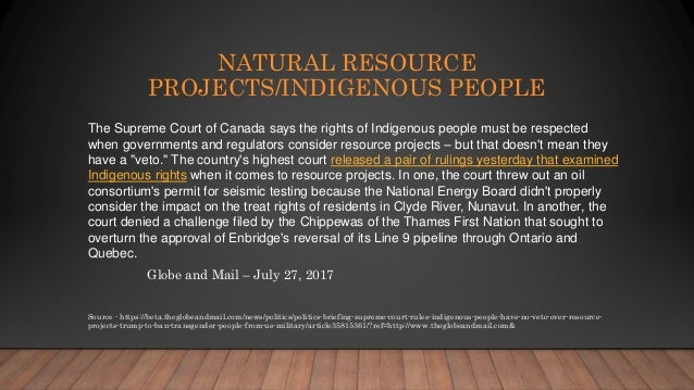 canada s policy of first nations Information sheet canadian human rights tribunal decisions on also found that canada's failure to ensure first nations children can access policy reforms.