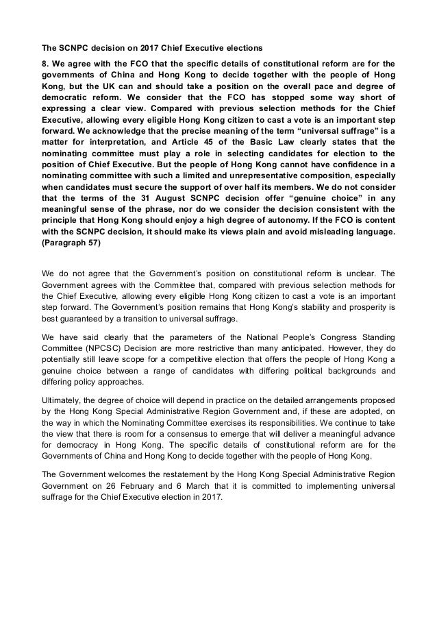 Response of Hong Kong government to the housing problems Essay