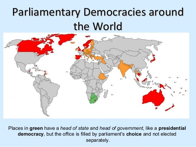 Parliamentary Democracy Governments of africa