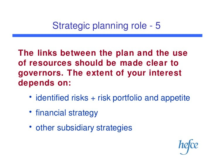 role of strategic management in planning Strategic planning is the most important key for solving strategic tasks it is the process of developing, controlling and maintaining a strategic balance between organizational goals and.