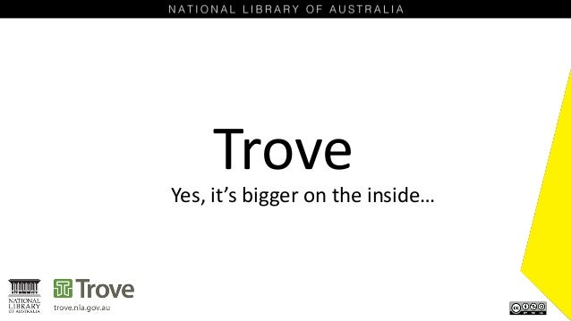 Trove Yes, it's bigger on the inside…