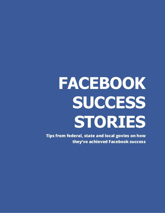 facebook a success story While conflict and turbulence are seemingly now norms across large parts of the world, colombia is a good news story according to michael o'hanlon and david petraeus.