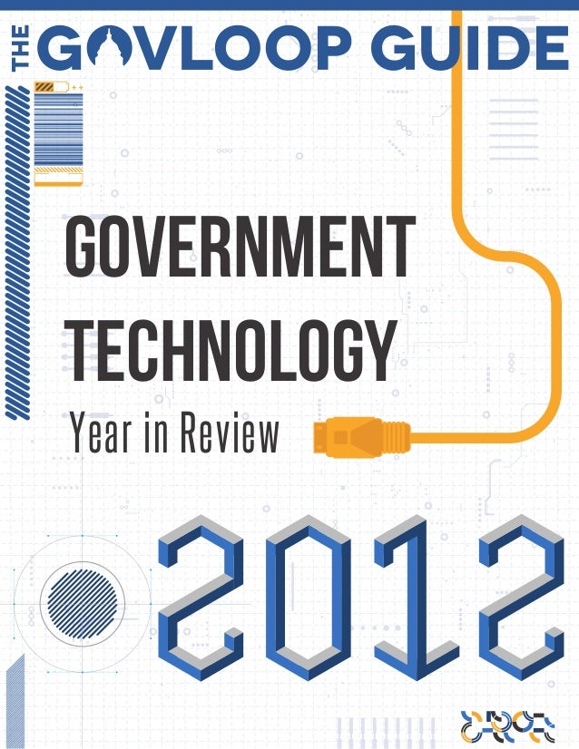 GovernmentTechnologyYear in Review