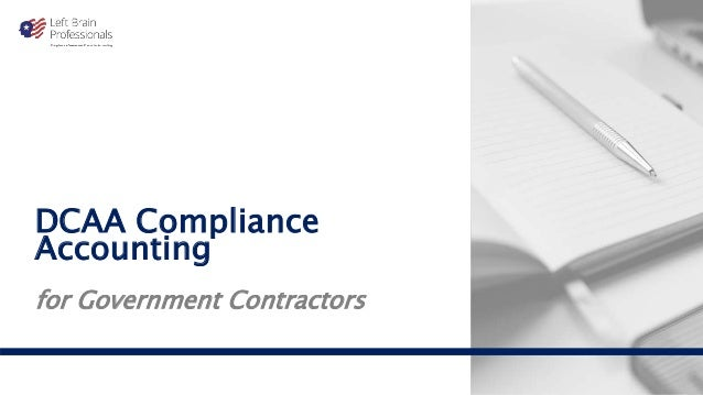 DCAA Compliance Accounting for Government Contractors