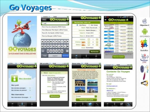 Application Mobile Govoyages.com par Reefcube Ltd Slide 3