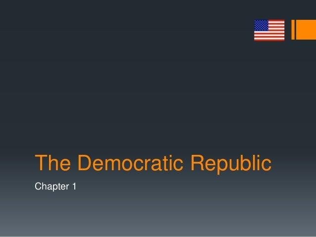 The Democratic Republic Chapter 1