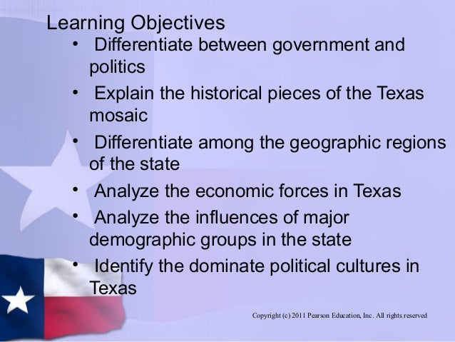 govt 2306 1205 texass political culture South plains college govt 2306: texas government spring 2017 government 2306 course title: texas government policies and political culture of texas.