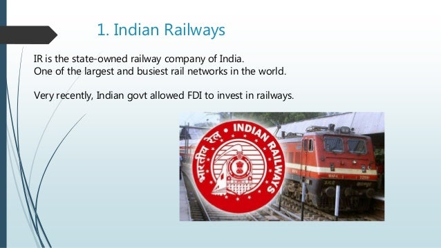advantages and disadvantages of monopoly in indian railways Monopoly of indian railways : iim case study in economics, a monopoly (from the latin word monopolium - greek language monos, one + polein, to sell) is defined as a persistent market situation where there is only one provider of a product or service.