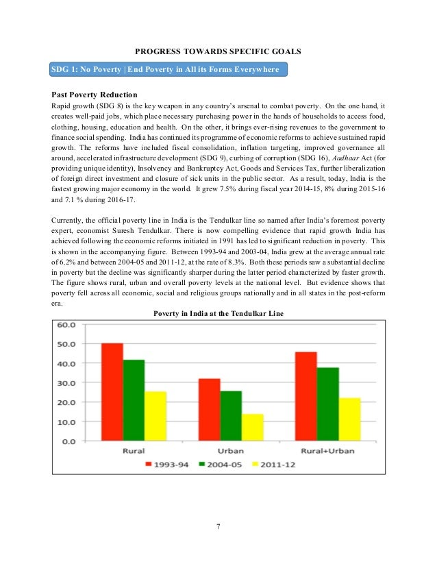Government of India - SDG Report