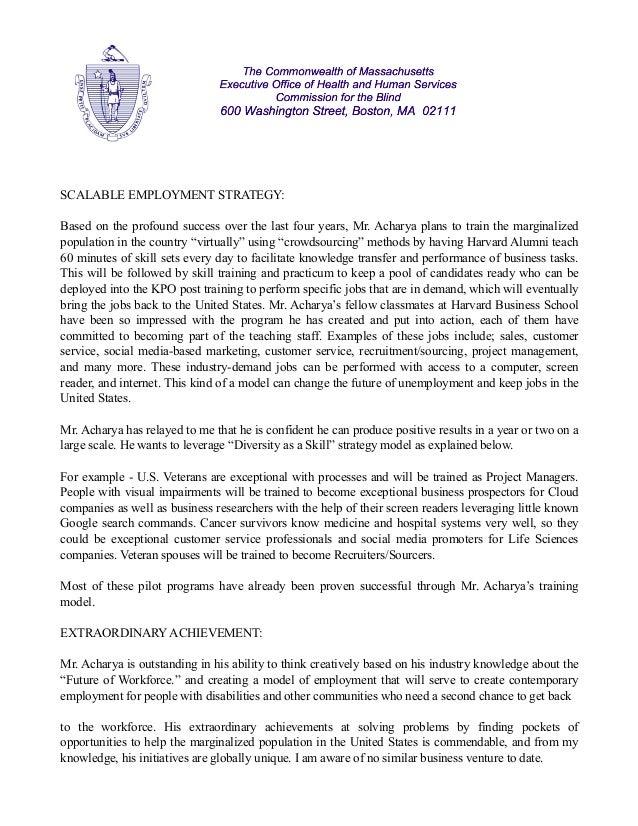 Govt of Massachusetts : John Oliveira : Subhashish Acharya Slide 3