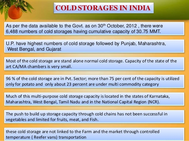 Govt Support Initiative To Build A Robust Cold Chain 2014  sc 1 st  Listitdallas & Cold Storage Project Cost - Listitdallas