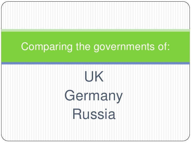 UK<br />Germany<br />Russia<br />Comparing the governments of:<br />
