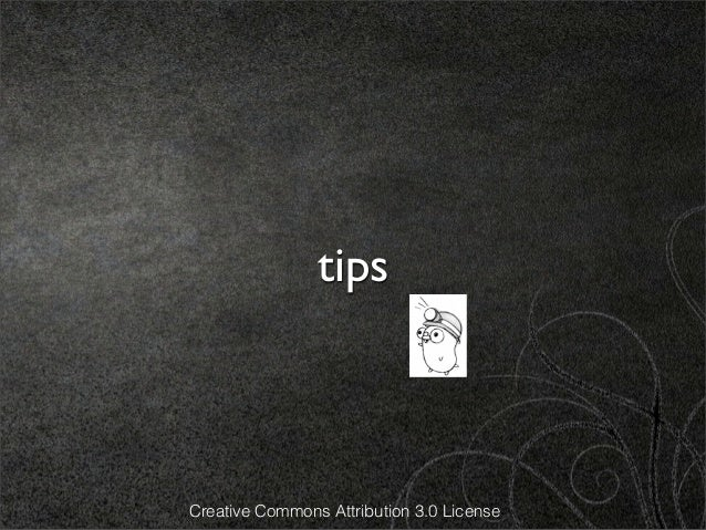 tipsCreative Commons Attribution 3.0 License