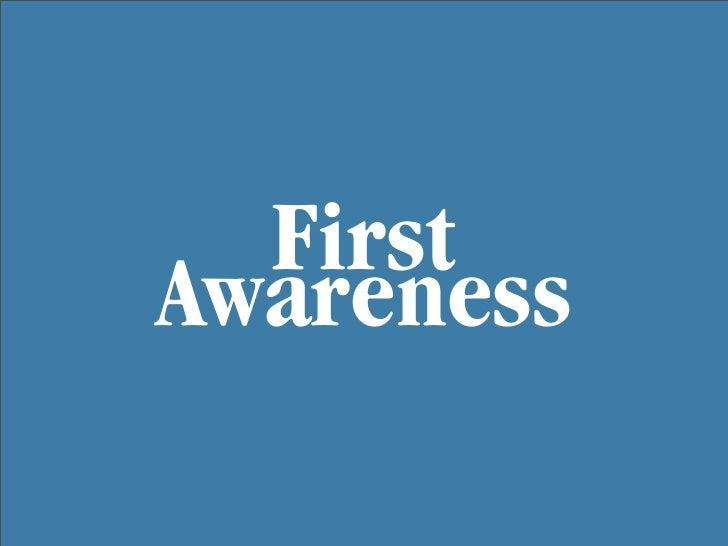 First Awareness