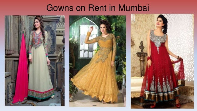 Gowns on rent in mumbai