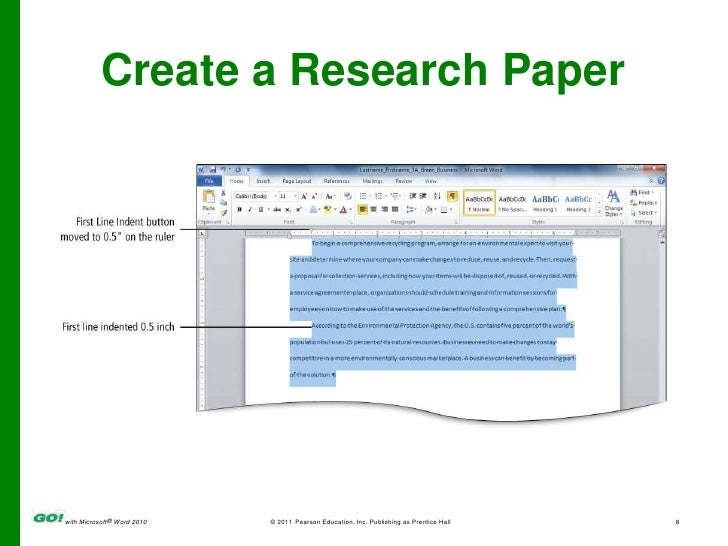 Ms Word Chapter 3 Ppt