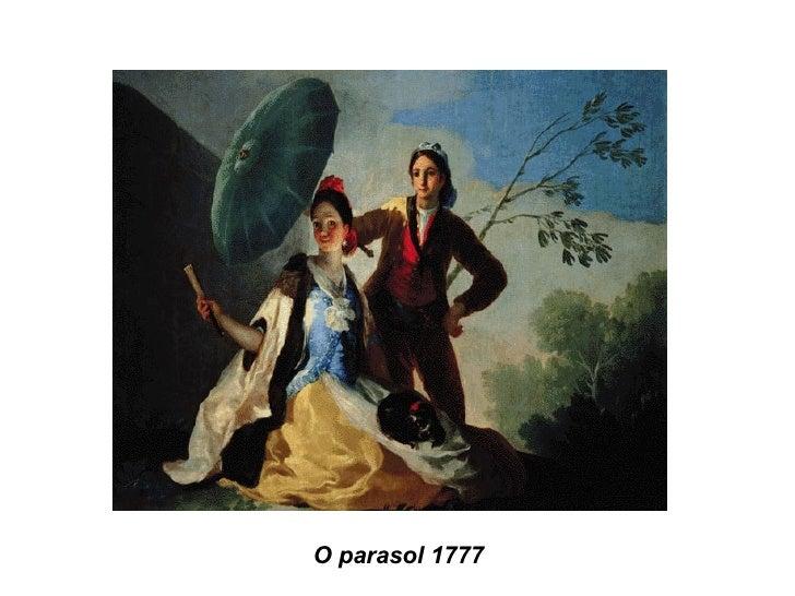 O parasol 1777