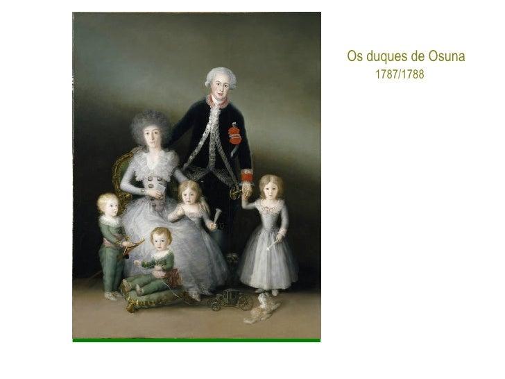 Os duques de Osuna 1787/1788