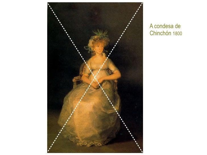 A condesa de  Chinchón  1800