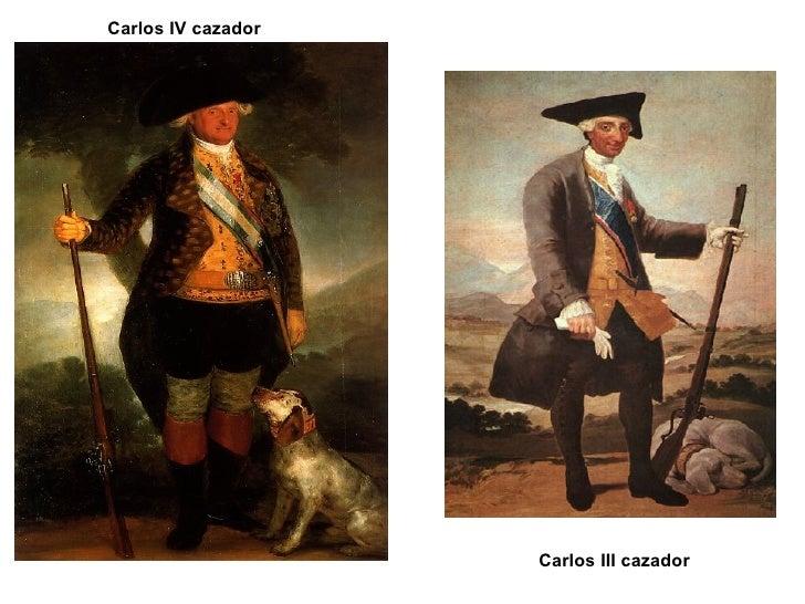 Carlos IV cazador Carlos III cazador