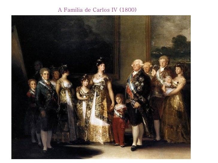 A Familia de Carlos IV (1800)