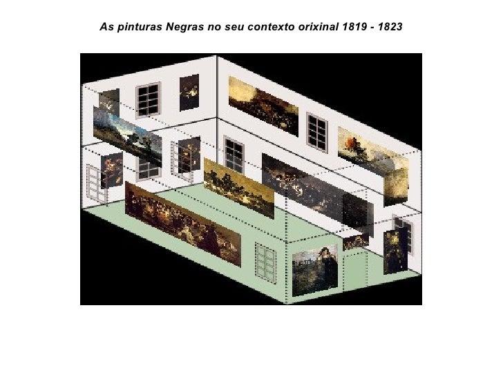 As pinturas Negras no seu contexto orixinal 1819 - 1823