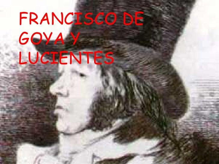 FRANCISCO DEGOYA YLUCIENTES