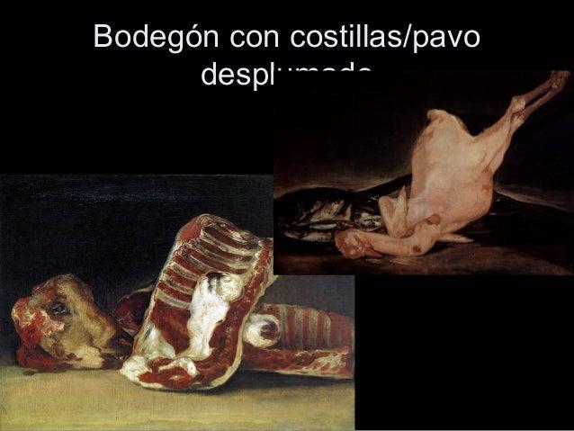 Francisco de goya - Bodegon manrique ...