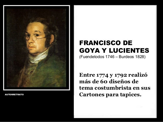 Goya costumbrista Slide 2