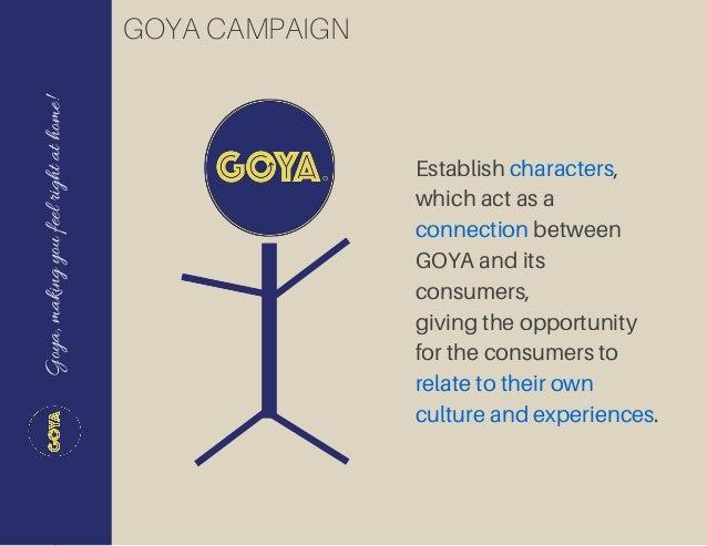 goya slogan