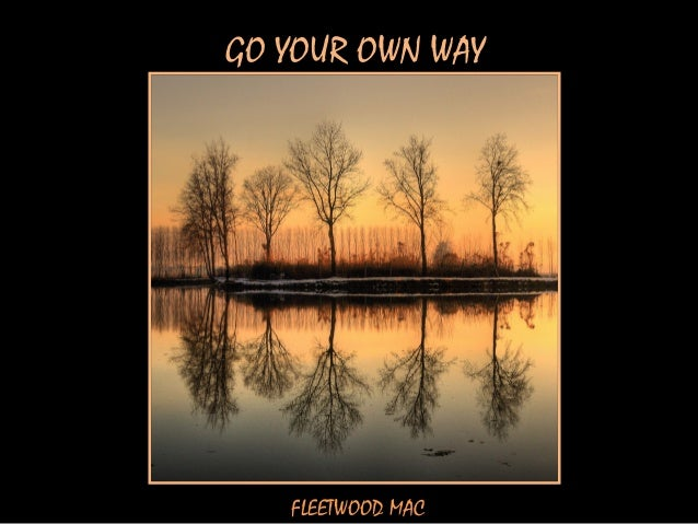 GO YOUR OWN WAY   FLEETWOOD MAC